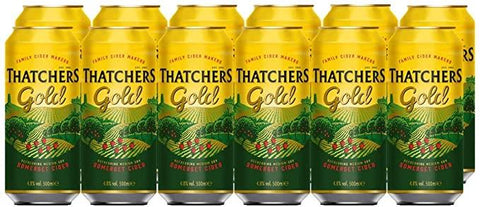 Thatchers Gold Cider Cans 24x500ml