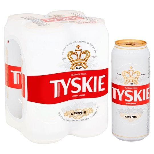 Tyskie Polish Lager Cans 24x500ml