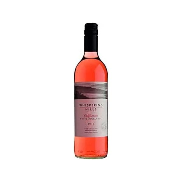 Whispering Hills White Zinfandel Wine 75cl
