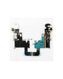 Charging Port and Headphone Jack Flex Cable for iPhone 6 White