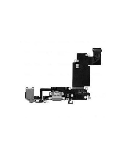 Charging Port and Headphone Jack Flex Cable for iPhone 6s Plus – Space Gray