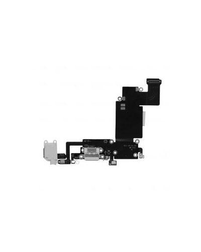 Charging Port and Headphone Jack Flex Cable for iPhone 6s Plus – White