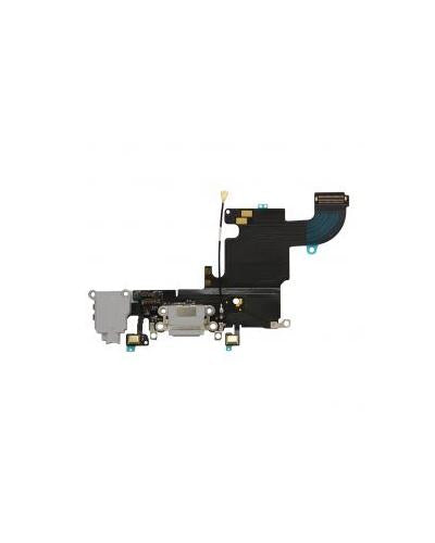 Charging Port and Headphone Jack Flex Cable for iPhone 6s – Gray
