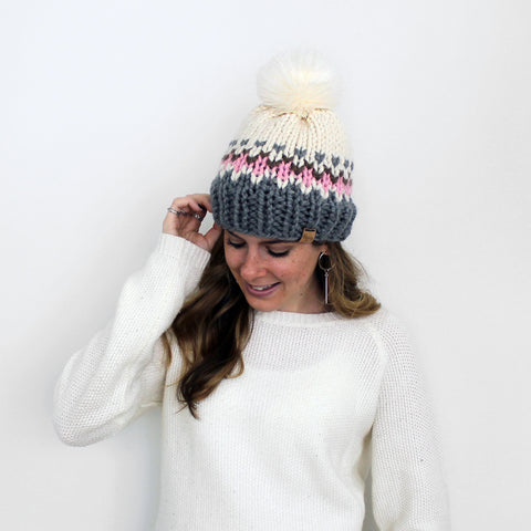 Kingston Hat Knitting Pattern