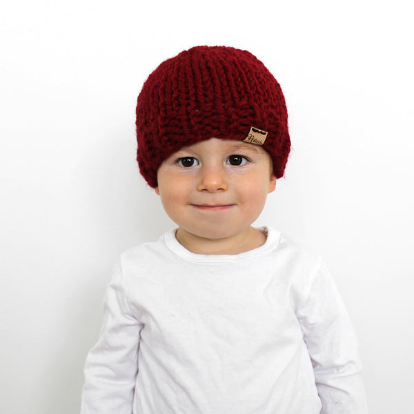 Little Hartford Hat- Cranberry