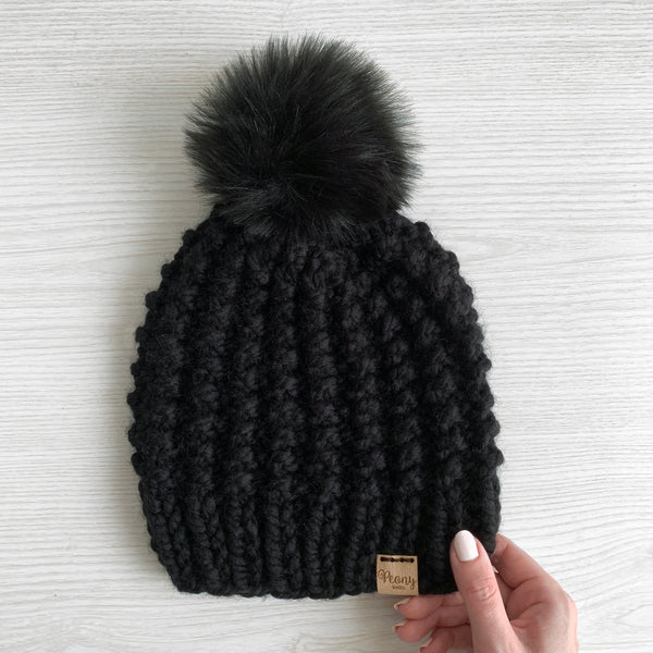 Galena Hat- Black