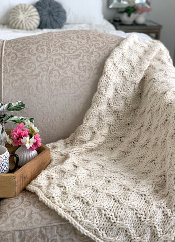 Berwyn Blanket Knitting Pattern