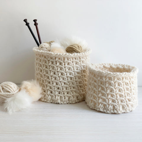 Belmont Basket Knitting Pattern