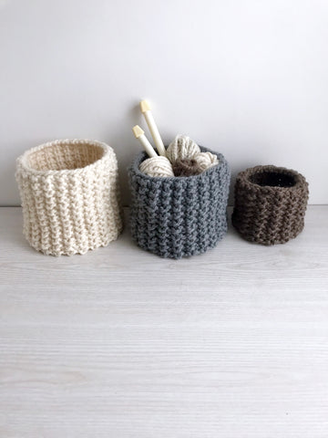 Baltimore Basket Knitting Pattern