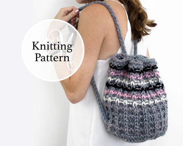 Cloverly Bag Knitting Pattern