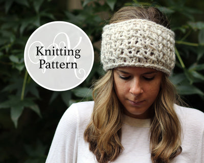 Holland Headband Knitting Pattern