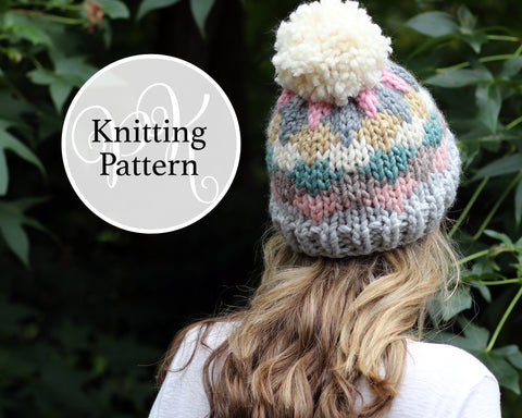 Marion Hat Knitting Pattern