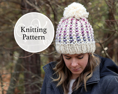 Oxford Hat Knitting Pattern