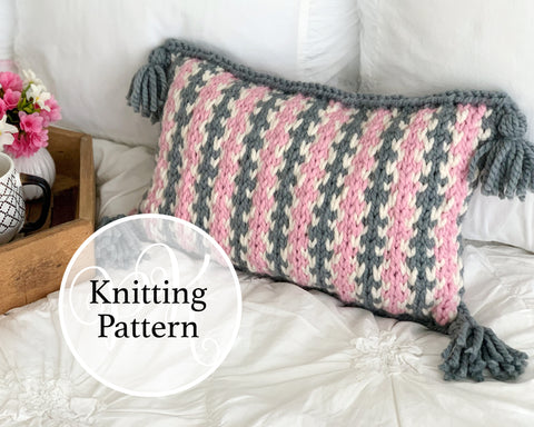 Padonia Pillow Knitting Pattern