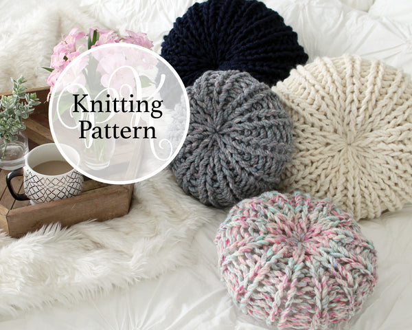 Potomac Pillow Knitting Pattern
