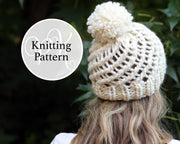Quantico Hat Knitting Pattern
