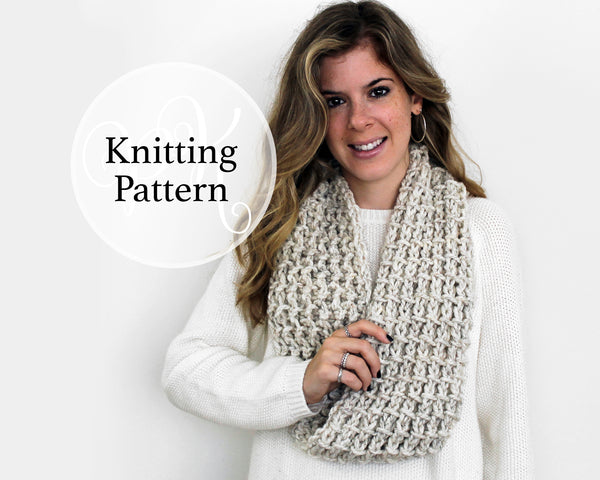 Rockville Cowl Knitting Pattern