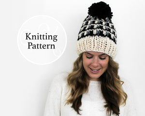 Rosedale Hat Knitting Pattern