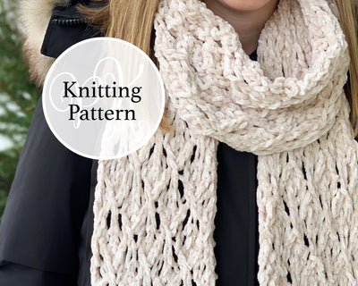 Seabrook Scarf Knitting Pattern