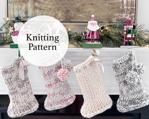 Sonoma Stocking Knitting Pattern