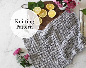 Timonium Towel Knitting Pattern