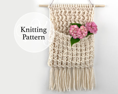 Waverly Wall Hanging Knitting Pattern
