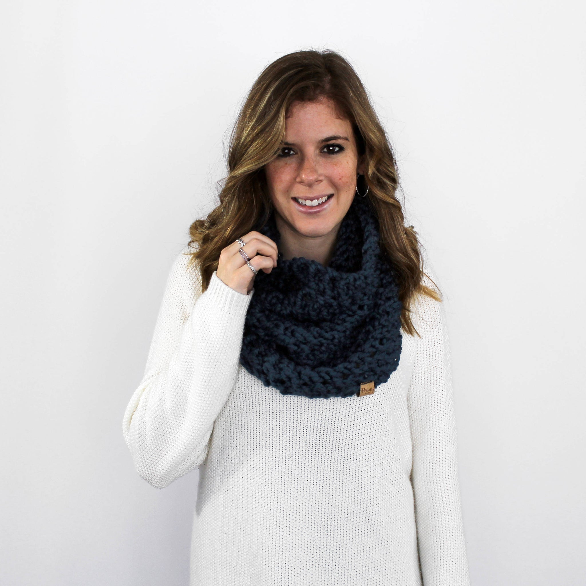 Calvert Cowl- Denim