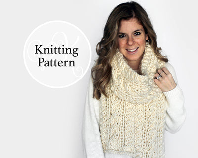 Chesapeake Scarf Knitting Pattern