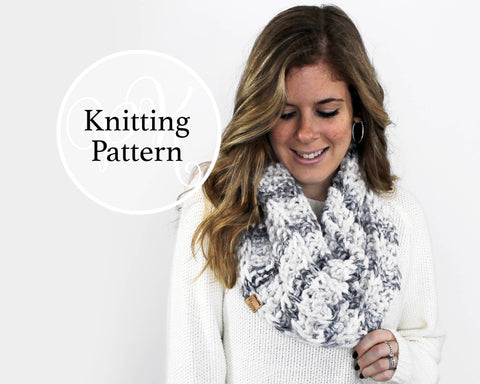 Cheverly Cowl Knitting Pattern