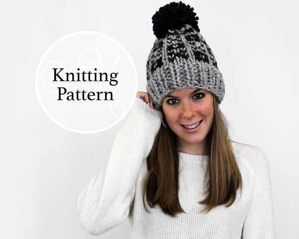 Easton Hat Knitting Pattern