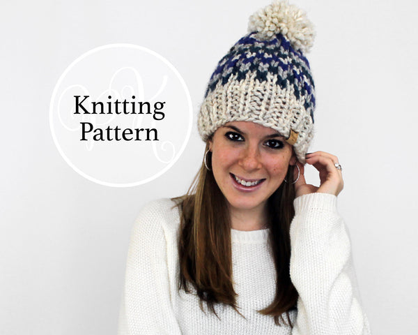 Odenton Hat Knitting Pattern