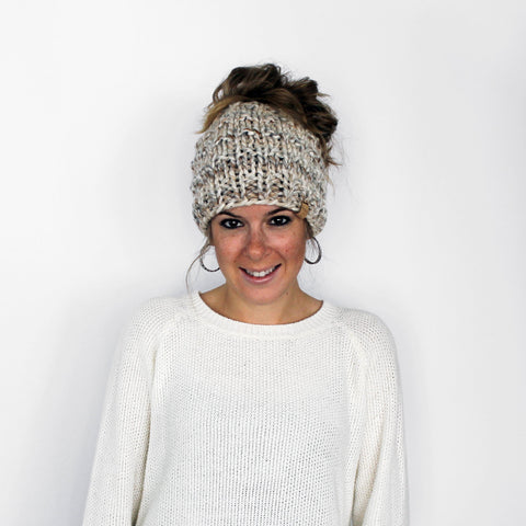 Piscataway Ponytail Hat- Fossil