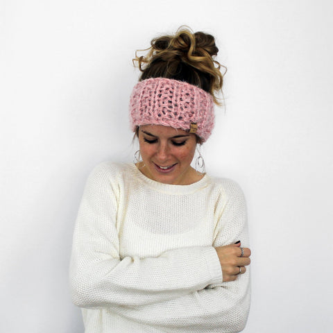 Hillsboro Headband- Blush