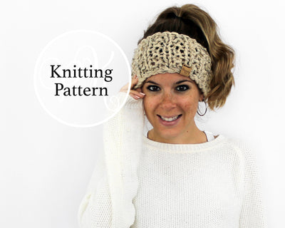Towson Headband Knitting Pattern