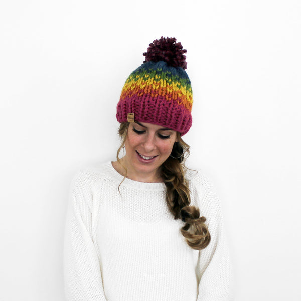 Ellicott Hat- Rainbow