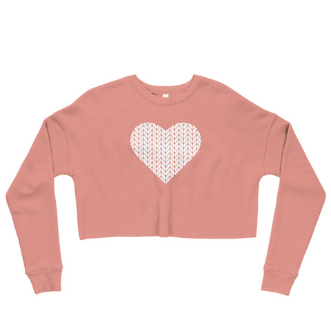 Heart Crop Sweatshirt