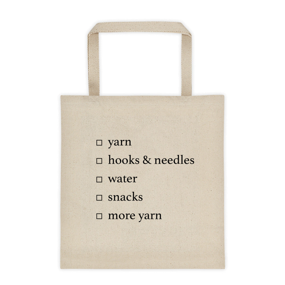 Supplies Tote bag