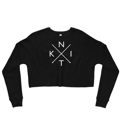 KNIT Crop Sweatshirt