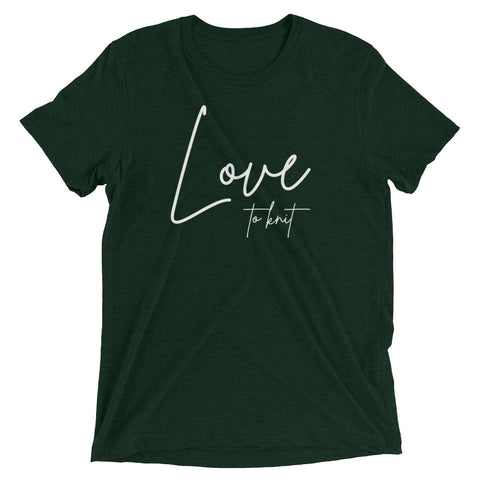 Love to Knit Short sleeve t-shirt