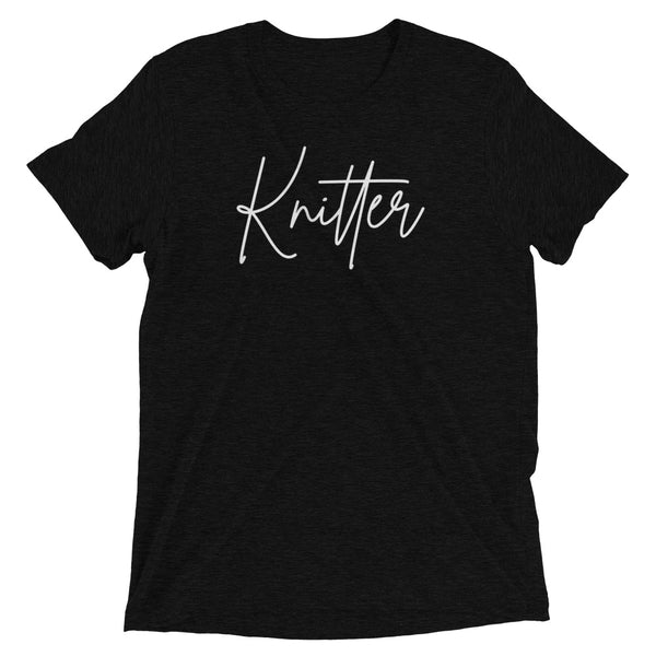 Knitter Short sleeve t-shirt