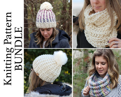 Chunky Collection Knitting Pattern BUNDLE
