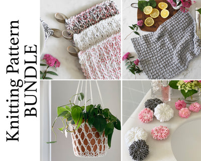 Cotton Collection Knitting Pattern BUNDLE