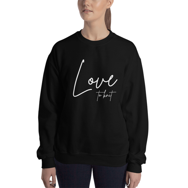 Love to Knit Sweatshirt