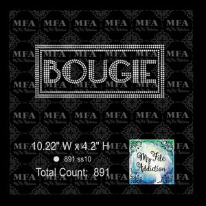 Bougie Rhinestone Digital Download File - My File Addiction