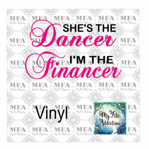 She's the Dancer Vector Digital Download File - My File Addiction