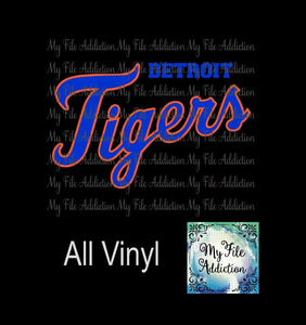 Detroit Tigers 3 Vector Digital Download File - My File Addiction