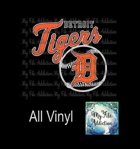Detroit Tigers 4 Vector Digital Download File - My File Addiction