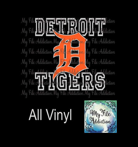 Detroit Tigers 5 Vector Digital Download File - My File Addiction