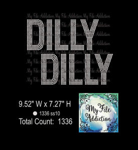 Dilly Dilly Rhinestone Digital Download File - My File Addiction