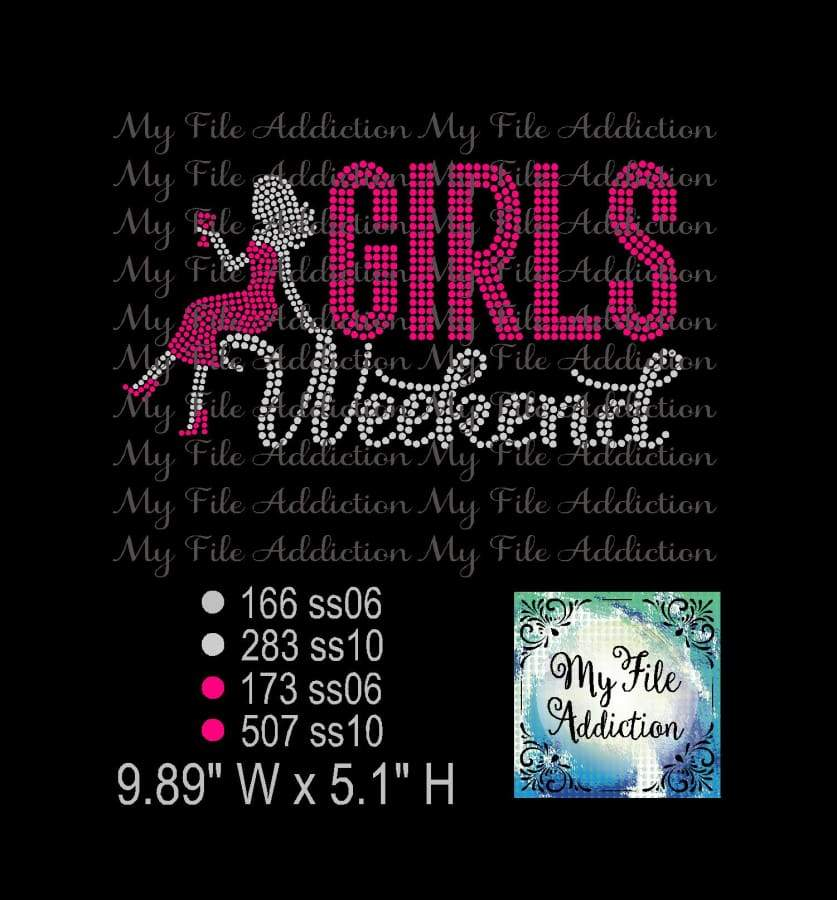 Girls Weekend with Lady Rhinestone Digital Download File - My File Addiction